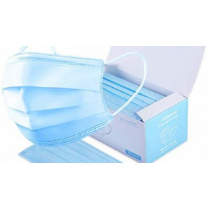 Disposable Face Masks (50 masks/box, Min 40 boxes)