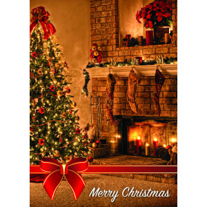 Holiday Greeting Card - Cozy Christmas