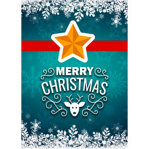 Holiday Greeting Card - Christmas Star