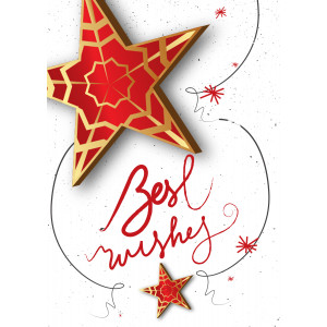 Holiday Greeting Card - Best Wishes