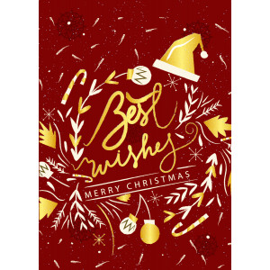 Holiday Greeting Card - Crazy Christmas Party